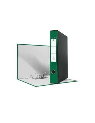 Registratore EUROFILE G54 verde dorso 5cm f.to protocollo ESSELTE