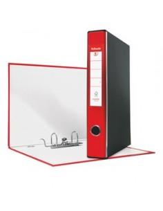 Registratore EUROFILE G54 rosso dorso 5cm f.to protocollo ESSELTE