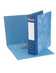 Registratore ESSENTIAL G75 blu dorso 8cm f.to protocollo ESSELTE