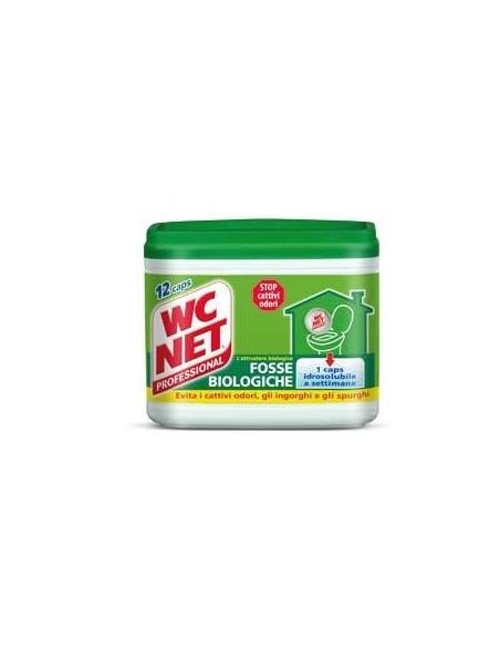 Wc net fosse biologiche 216gr x 12 capsule for Wc net fosse biologiche prezzo