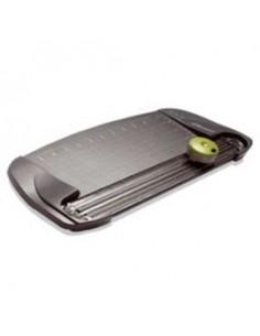 Carrello portacomputer Durable - argento metallizzato/faggio - 80x56,4x92,5-122,5 cm - 3 - 3718-124