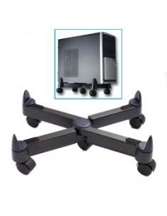 Appendiabiti Totem Unisit - nero/alluminio - 8 appendini - APPTOTBP / APTOGBP