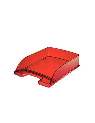 Vaschetta portacorrispondenza STANDARD PLUS rosso trasp. LEITZ