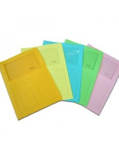 Post-it® Cubi Neon - 76x76 mm - 2 verde ultra, 4 giallo neon, blu ultra, viola neon, blu - 2028-NB