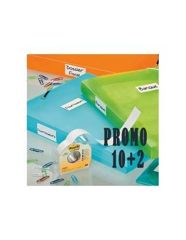 PROMO PACK 10+2 POST-IT COVER-UP 658-H 25MMX17