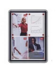 Dispenser Karate Emotional Post-it® Z-Notes - 76x76 mm - grigio e bianco - azzurro fluo - KD-330