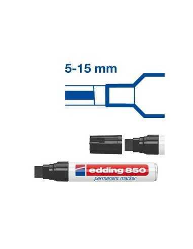 MARCATORE EDDING 850 NERO PS 5-16MM PERMANENTE