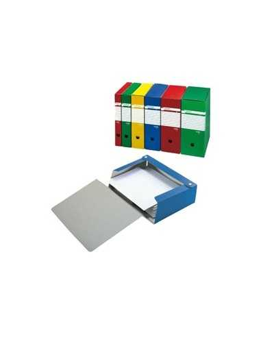 Scatola archivio Spazio 120 25x35cm dorso 12cm giallo Sei Rota