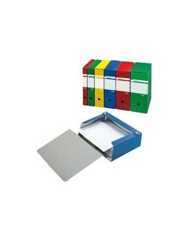 Scatola archivio Spazio 80 25x35cm dorso 8cm giallo Sei Rota