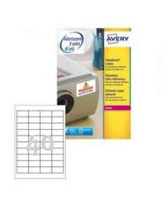 Poliestere adesivo extra L6140 bianco 20fg 45