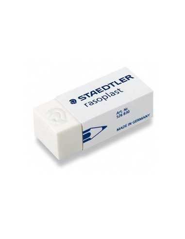 BOX 30 GOMME RASOPLAST 526 B30 BIANCA PER MATITA