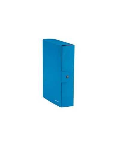 Scatola progetto WOW dorso 8cm blu metal LEITZ