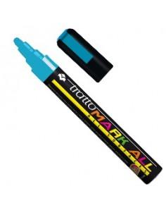 Etichette rotonde in bustina Avery - blu - diam. 8 mm - 70 - PSA08B (conf.6)