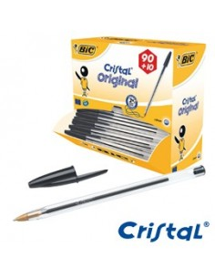 Dispenser value pack 90+10 penna sfera CRISTAL® medio 1