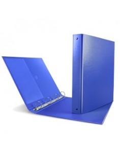 Raccoglitore Nettuno 50 A4 4D blu Sei Rota