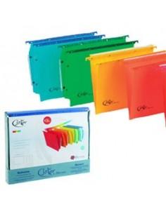 BOX 10 CARTELLE SOSPESE CASSETTO 39/V COLORI ASS. JOKER BERTESI