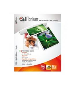 100 POUCHES 216x303mm (A4) 175my TiTanium