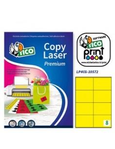 Cartoncino colorato Rismaluce Favini A4 - 140 g/mq - assortiti 6 colori - A65x214 (risma200)