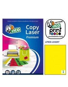 Cartoncino colorato Rismaluce Favini A4 - 140 g/mq - arancio - A65E204 (risma200)
