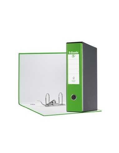 Registratore EUROFILE G53 verde vivida dorso 8cm f.to commerciale ESSELTE