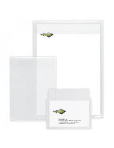 Biglietti da visita Quick&Clean™Avery -Inkjet- fronte-retro -tela lino- 260 g/mq-C32096-10 (conf.80)