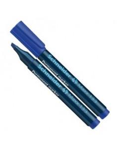 Marcatore MAXX 133 permanente punta scalpello blu SCHNEIDER