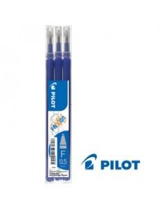 SET 3 REFILL SFERA FRIXIONball CLICKER 0.5mm BLU PILOT