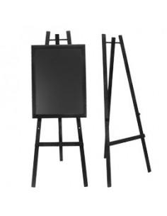 Porta-avvisi da tavolo girevole Deflecto - A4 verticale - DE691101