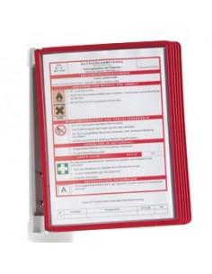 Lavagna portablocco magnetica Excellence Pergamy - 75x105 cm - grigio - EA4806056-002