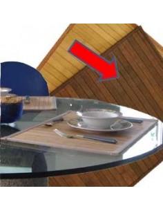 Blocco lavagna da tavolo Pergamy - 58,5x50 cm - bianco - 70 g - FL1415603-001