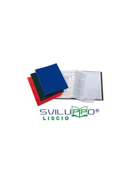 Bacheca Exhibit in sughero Bi-Office - 15xA4 - 114,6x96,7 cm - ante scorrevoli - VT640201160