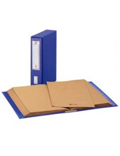 CLASSIFICATORE ALFABETICO MEC 20 BLU 23X32CM