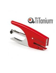 CUCITRICE A PINZA passo 6 - colore rosso TiTanium