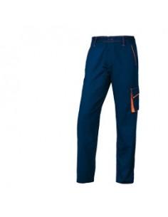 PANTALONE da LAVORO M6PAN blu/arancio Tg. XL PANOSTYLE®