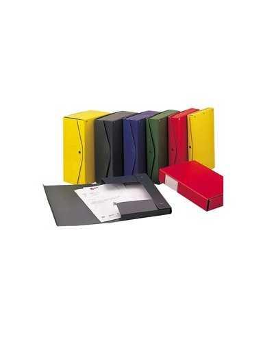 Scatola archivio PROJECT 8 giallo 25x35cm dorso 8cm KING MEC