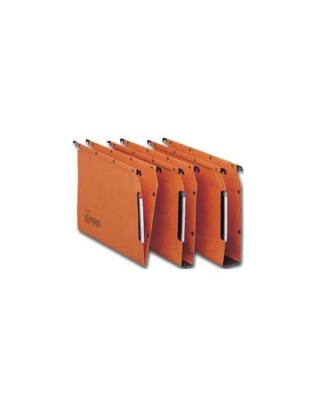 Buste a foratura universale Favorit Art - 22x30 cm - liscio - arancio - 100206798 (conf.25)